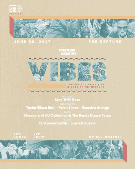 Vibes poster art