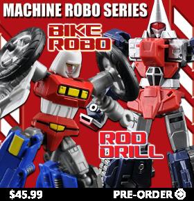 NEW MACHINE ROBO