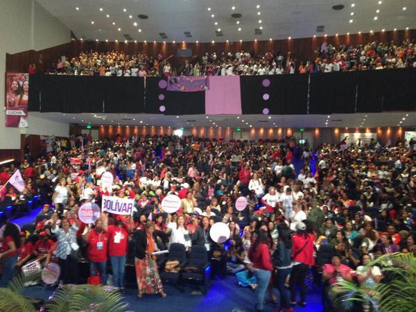 I Congreso de mujeres en Caracas