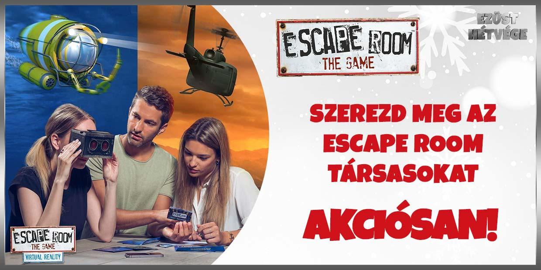 Szerezd meg az Escape Room társasokat akciósan!