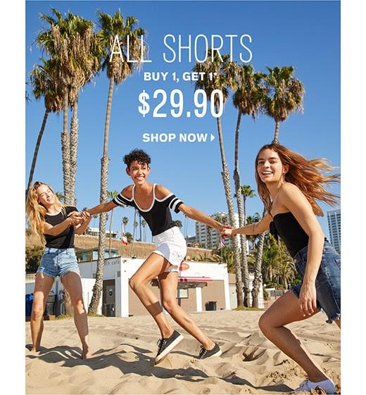 Shop BOGO $29.90 Shorts