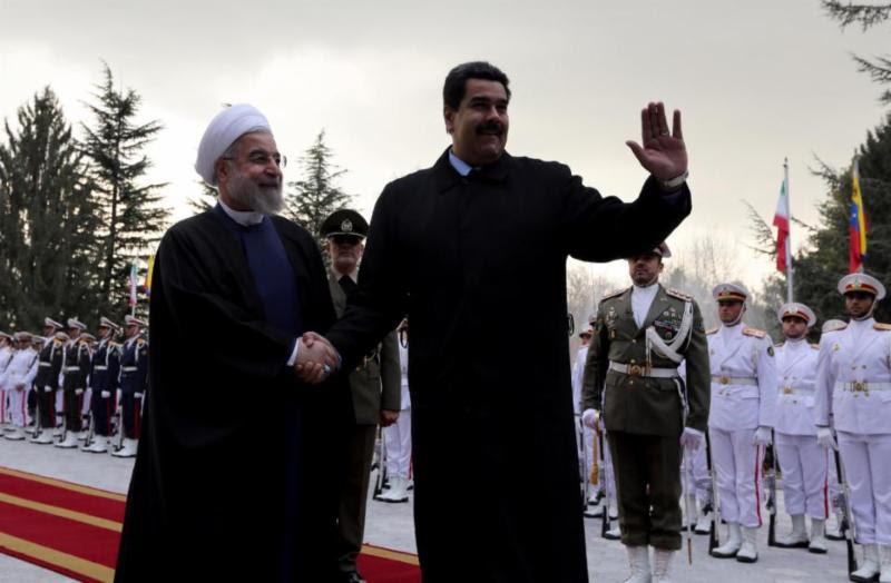 President Hassan Rouhani & Nicolas Maduro
