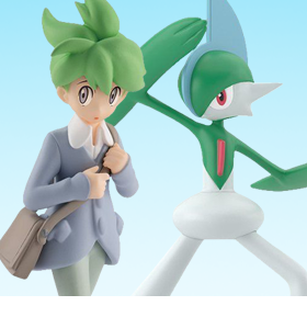 Pokemon Scale World Hoenn Region Wally & Gallade Two-Pack