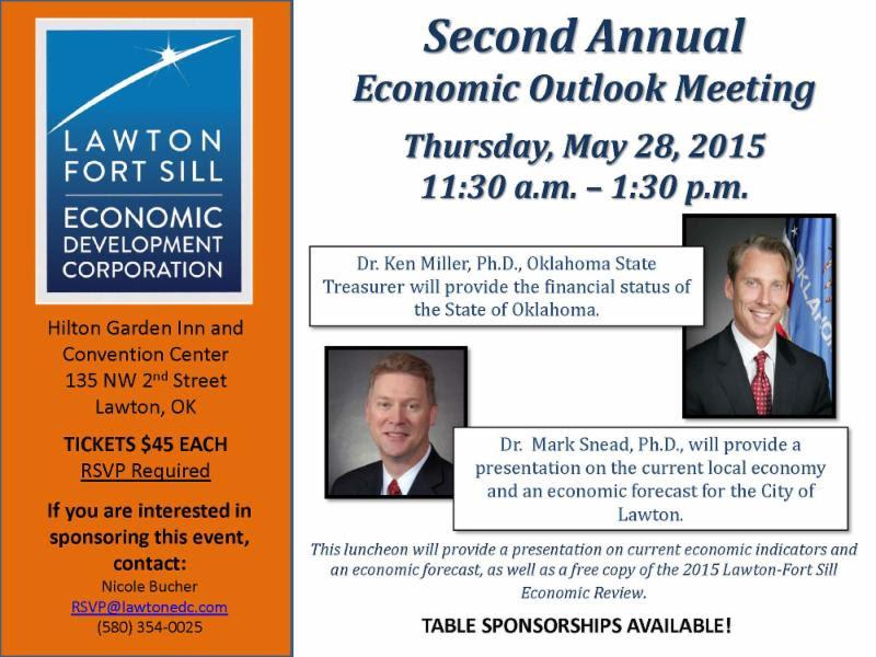 Economic Outlook Meeting @ Hilton Garden Inn & Convention Center | Lawton | Oklahoma | United States