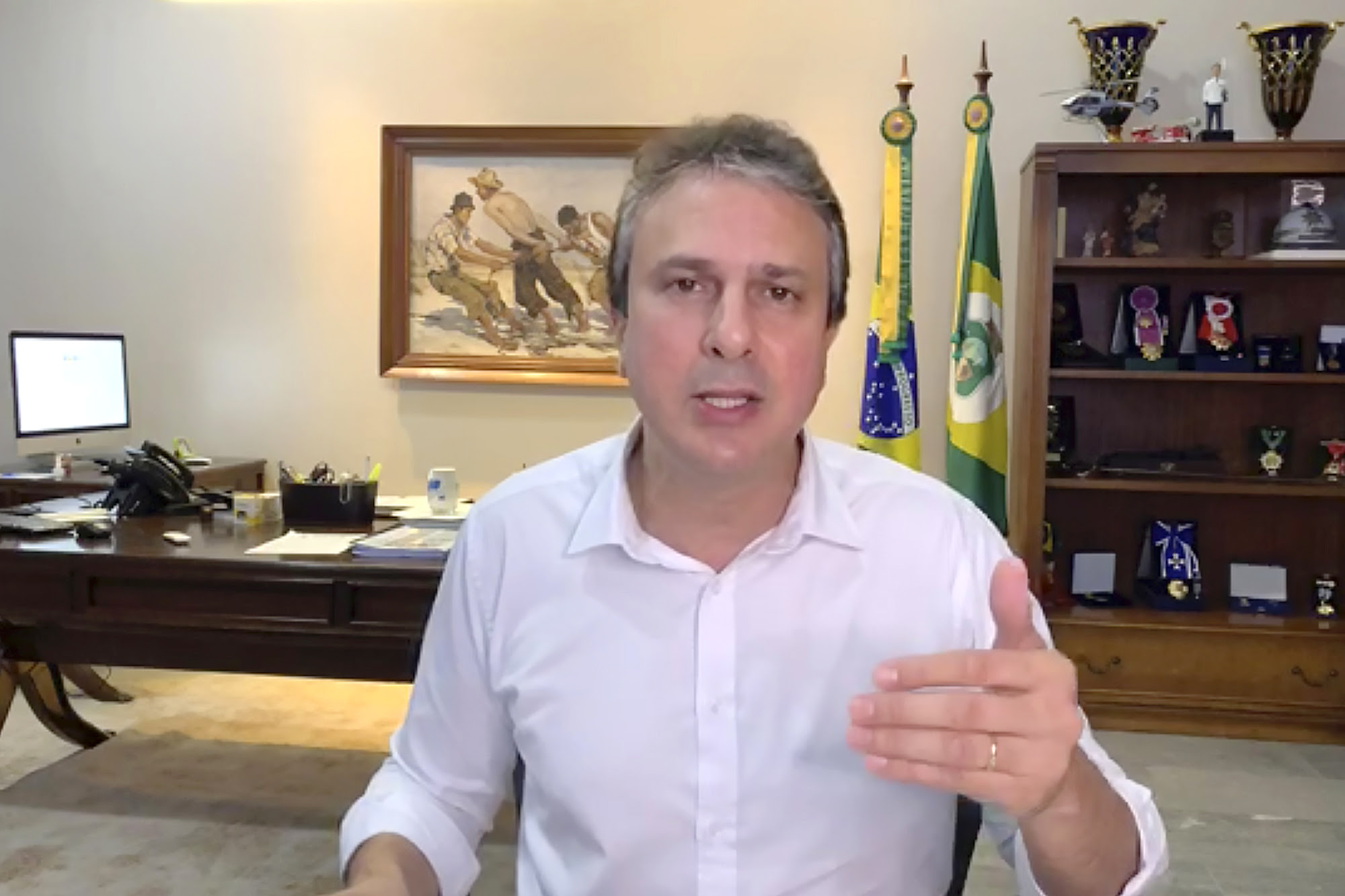 Governo do Ceará amplia leitos exclusivos para tratamento de coronavírus em 34 municípios cearenses