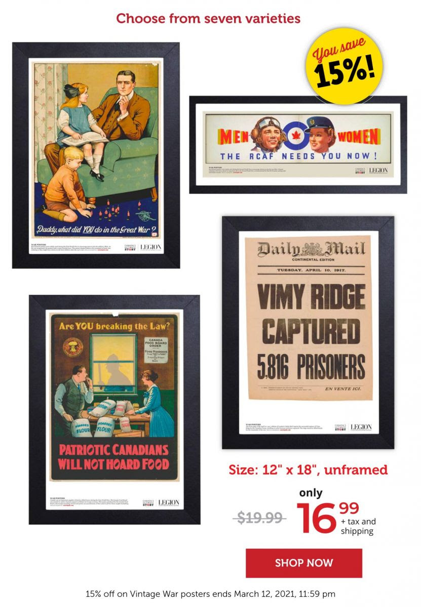 15% off on vintage posters