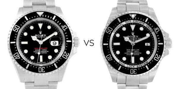 Seadweller vs Deepsea
