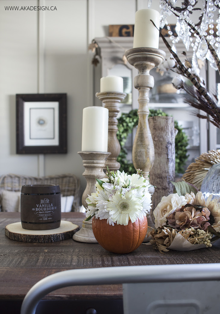 AKA DESIGN Fall Pumpkin Vase