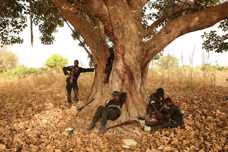 Aisha and her hunters are super heroes in the northeast for their superior hunting and fighting skills (Aljazeera)