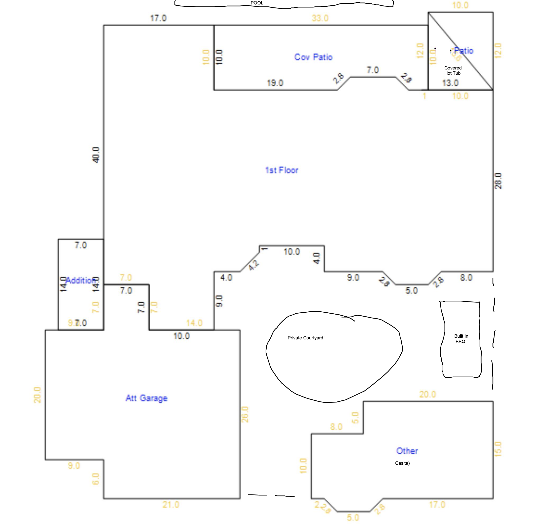 14313 W Circle Ridge Dr, Sun City West AZ 85375 Floor Plan tax records