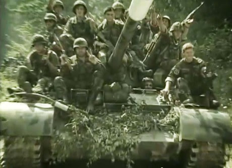 Swift, determined, strong Operation Storm 5 August 1995 Croat soldiers close in