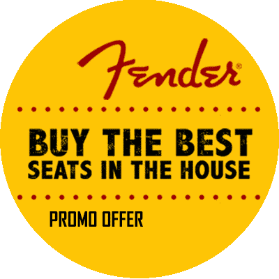 Fender Best Seats in the House Promotion