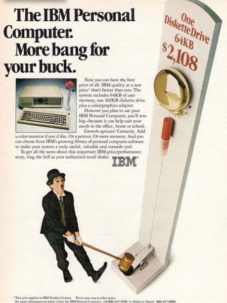 Early IBM PC AD