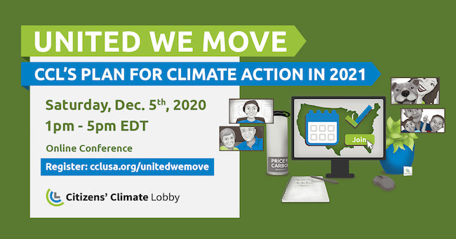 Race & climate among Citizen's Climate Lobby upcoming conference seminars
