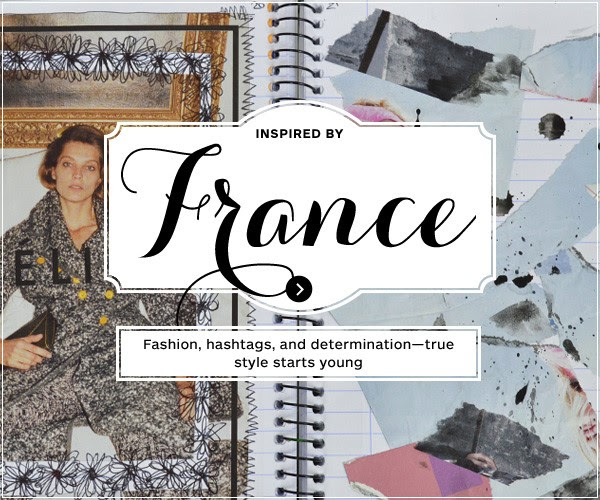 blurb - Inspiration via France - You're Never Too Young To Create