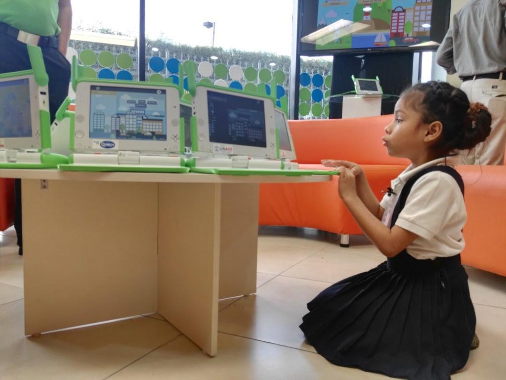Más de 47,000 niños han recibido una computadora XO en los últimos siete años. LAPRENSA/I.MUNGUÍA