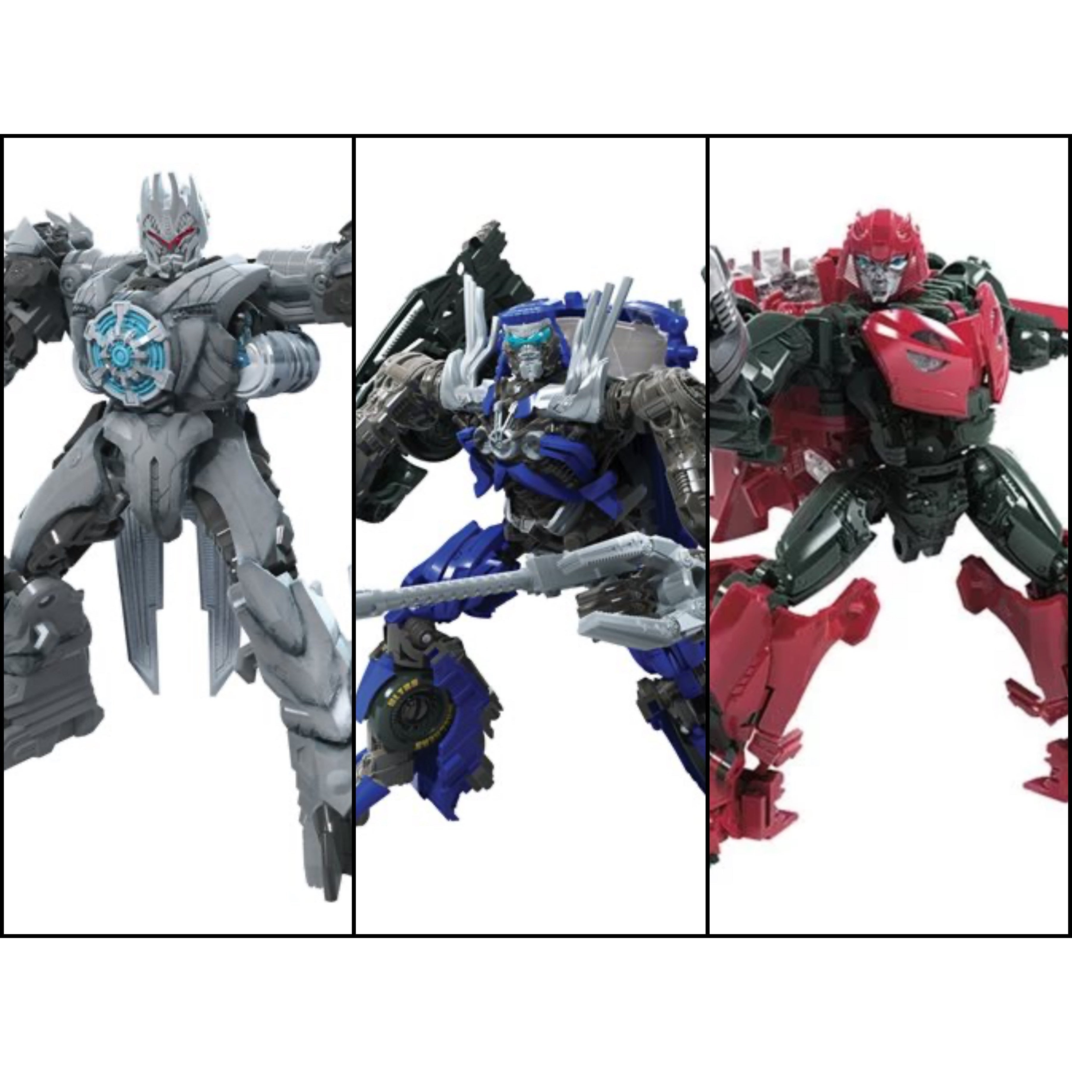 Image of Transformers Studio Series Premier Deluxe Wave 10 - Set of 3