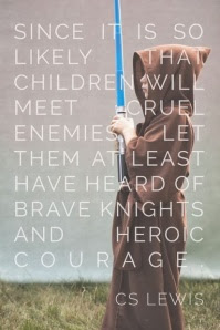 c s lewis quote brave knights