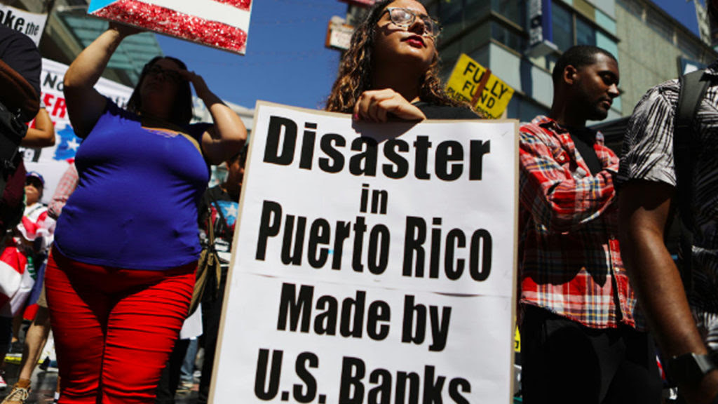 Disaster Profiteers vs. the People of Puerto Rico