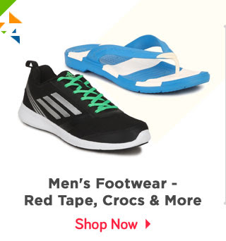 Fashion at Great Prices - Men's Footwear - Red Tape | Crocs & more