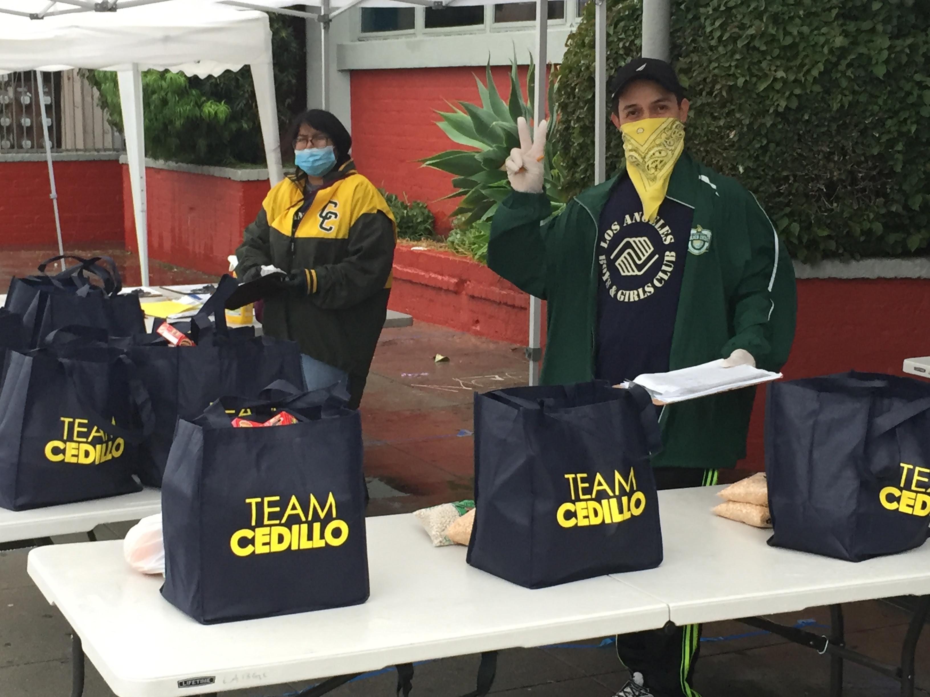 LA Boys and Girls Club Food Bank 4-9-2020  #2