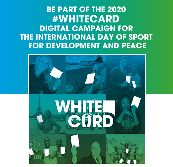 Be part of the 2020 #Whitecard campaign