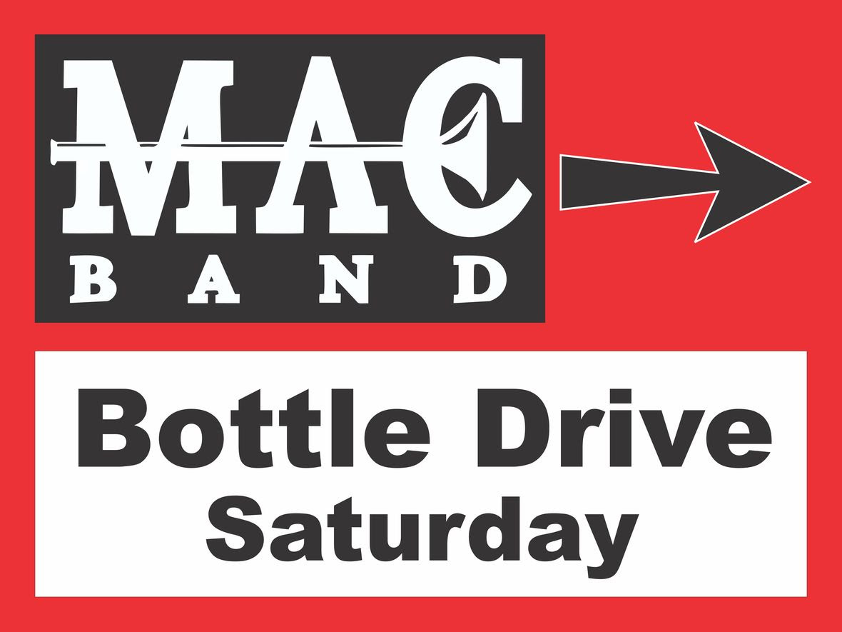 Bottle Drive Sign