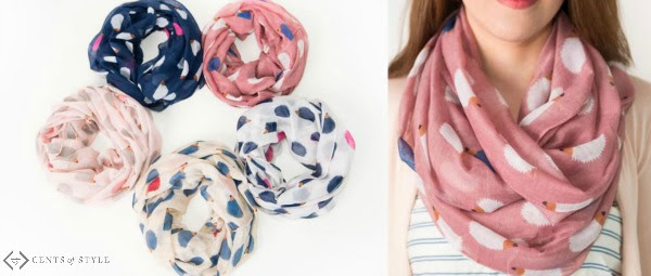 Hedgehog infinity scarf for $7.98: