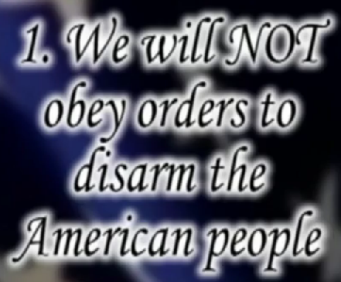Image result for oathkeeper orders we will not obey