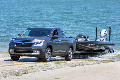 The freshened 2020 Honda Ridgeline arrives at dealerships Dec. 16 with a host of updates, including a standard 9-speed automatic transmission, standard Honda Sensing® safety and driver-assistive technologies, and a more streamlined trim structure. Now available in four trims—Sport, RTL, RTL-E and Black Edition—the 2020 Ridgeline arrives with a starting price of $33,900  (excluding $1,095 destination and handling) for the Sport trim with two-wheel drive.