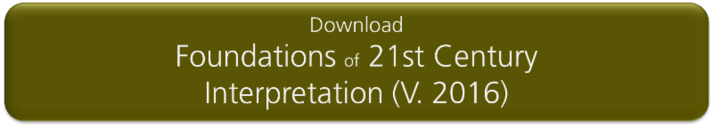 Download Foundations of 21st Century Interpretation _V. 2016_