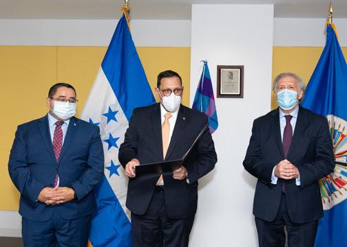 OEA designa salón en honor al General Francisco Morazán, héroe de Honduras y América Central