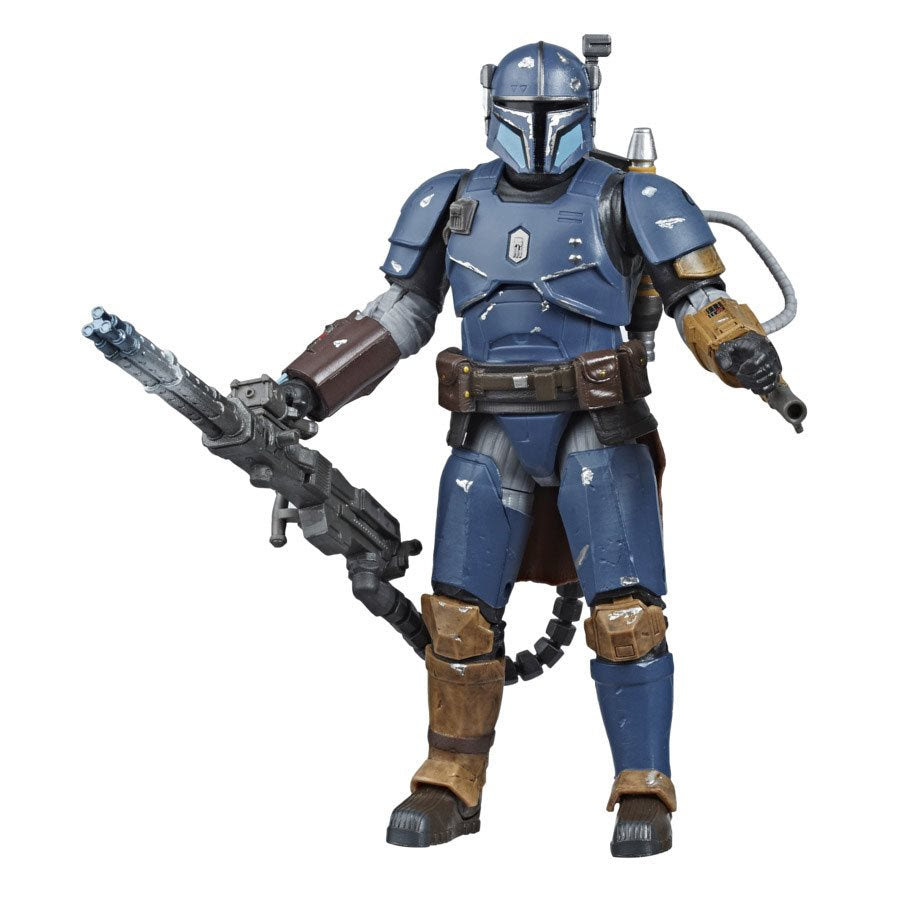 Image of Star Wars The Black Series Heavy Infantry Mandalorian 6-inch Action Figure - Exclusive