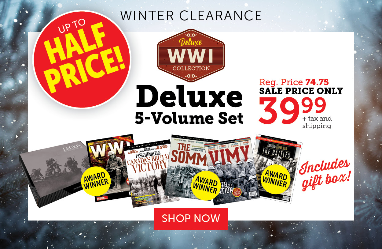 Winter Clearance - 5 Volume Set!