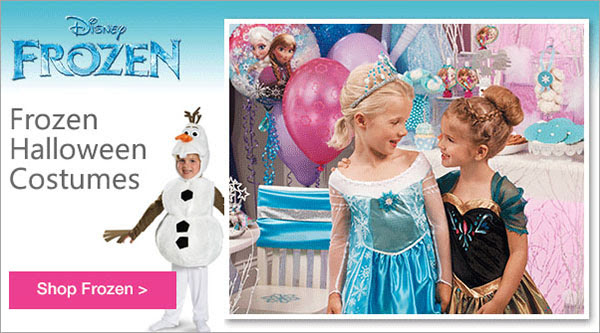 Frozen Costumes at Birthday Express