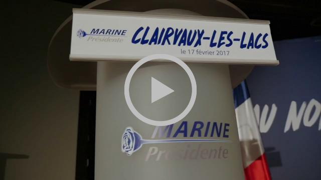 Réunion publique à Clairvaux-les-Lacs (17/02/2017)