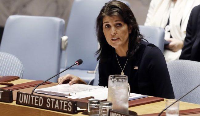 Nikki Haley Resigns as U.N. Ambassador