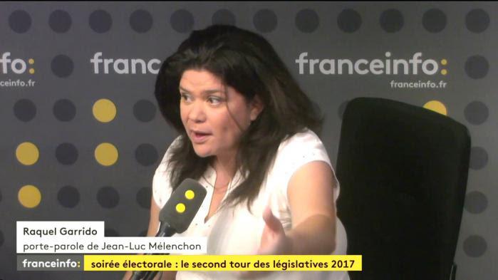 """VIDÉO. Législatives: la porte-parole de la France insoumise évoque """"de la triche"""" dans la circonscription de Manuel Valls"""