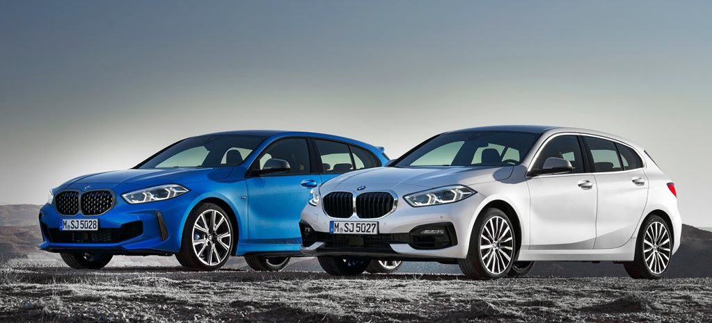 BMW 1 Series officially revealed. Vale RWD and six-cylinder engines