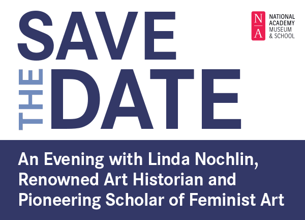 Save the Date, An Evening with Linda Nochlin