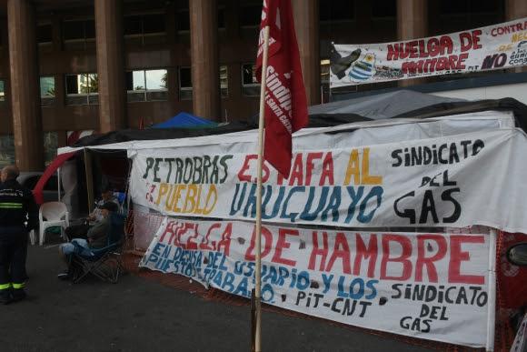 Petrobras y el sindicato de trabajadores del gas no logran alcanzar un acuerdo. Foto: F. Flores
