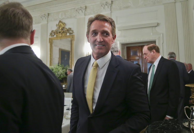 Sen. Jeff Flake (R-Ariz.). (AP Photo/Pablo Martinez Monsivais)