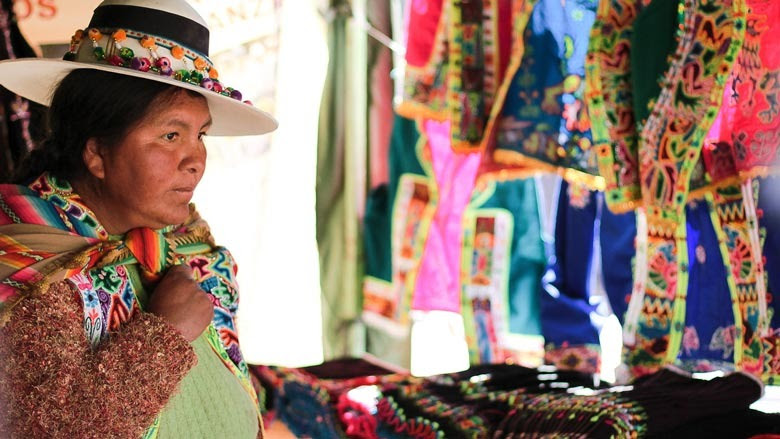 Feria del Proyecto de Alianzas Rurales en Bolivia. © Banco Mundial