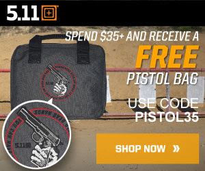 FREE pistol bag with orders ov...