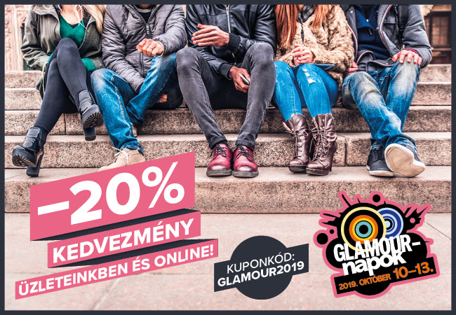 Glamour napok 2019 a Hervisben! -20%