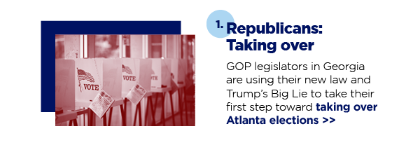 1. Republicans: Taking over