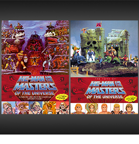 He-Man and the Masters of the Universe Set of 2 Books