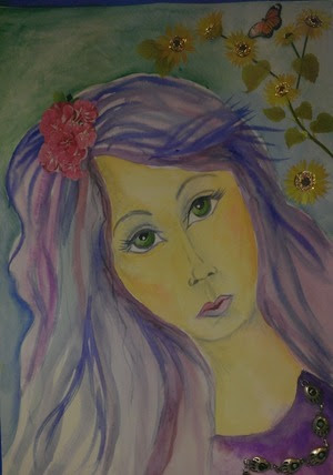 Whimsical Watercolor from Hope Friedland class