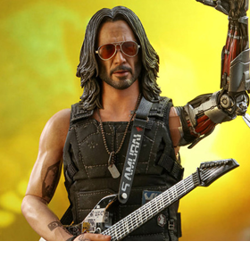 Cyberpunk 2077 VGM47 Johnny Silverhand 1/6 Scale Collectible Figure