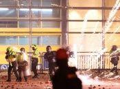 Según medios locales, en cuatro áreas de la capital colombiana, Bogotá, se registraron enfrentamientos.